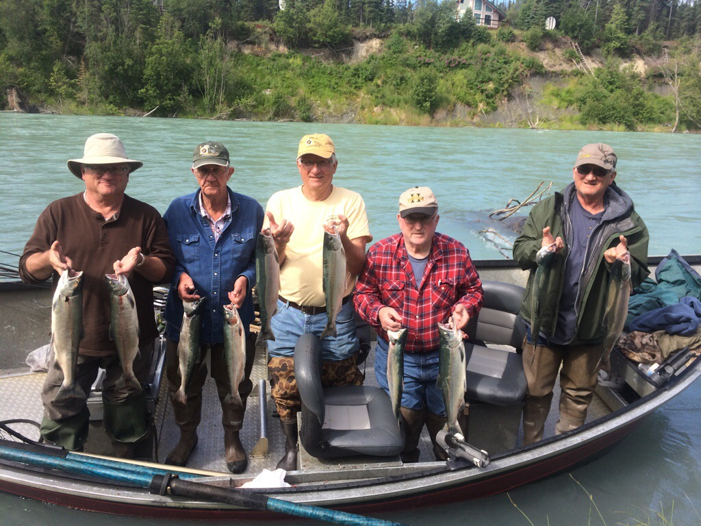 West coast anglers for Hoh river fishing report