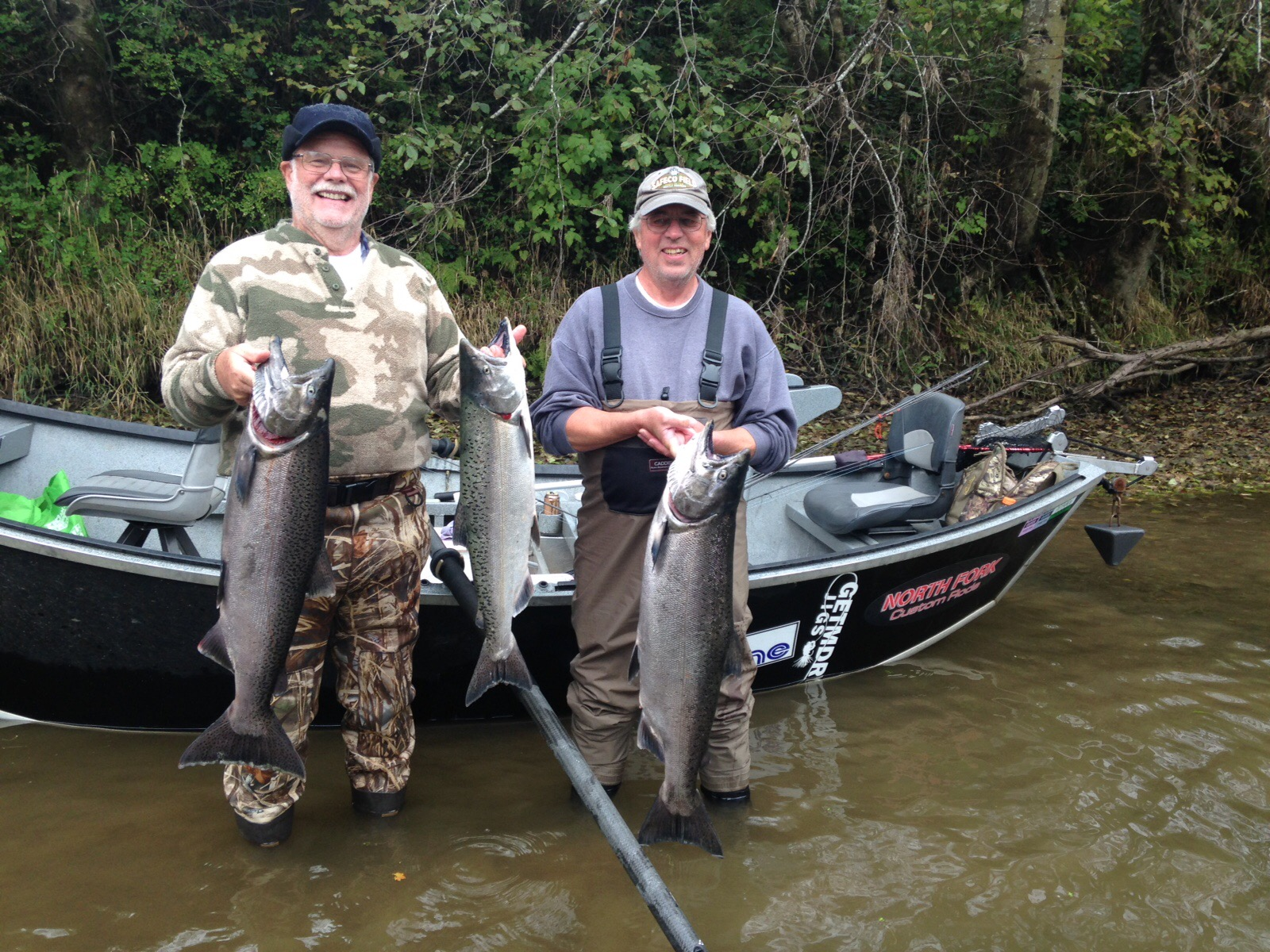 Winter steelhead time west coast anglers for Hoh river fishing report